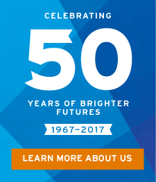 Celebrating 50 years of brighter futures. 1967-2017. Learn more about us.